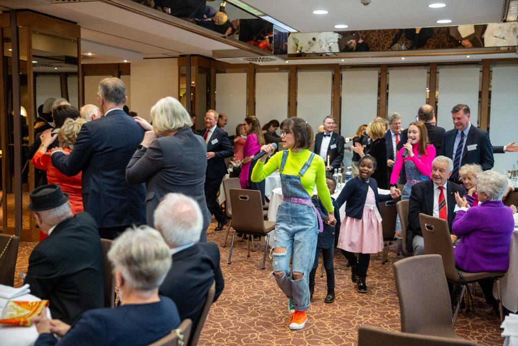 Polonaise beim Neujahrsempfang 2020 der TG Reserve im Lindner Congresshotel