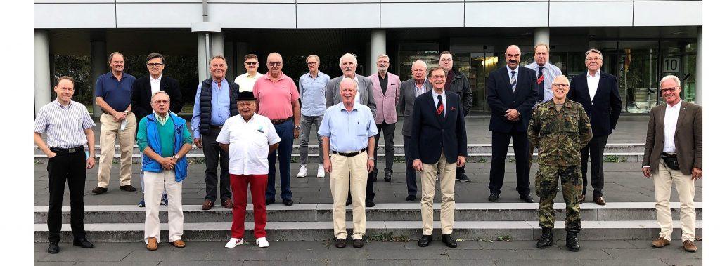 Besuch TG Reserve Landeskommando NRW, Düsseldorf, 27.8.2020